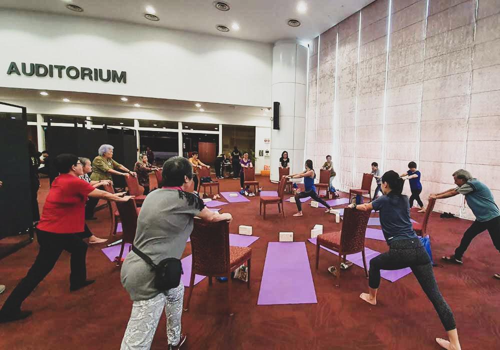 Adaptive Chair Yoga Training